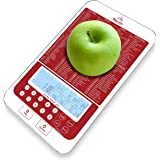 Mackie Food Scale, Digital Kitchen Scale Nutrition Portions Easy Automatic Calorie and Macro Nutrition Calculator an American