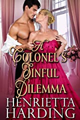 A Colonel's Sinful Dilemma: A Historical Regency Romance Book Kindle Edition