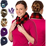Sunny Bay Neck Heating Wrap, Heat Therapy Pad for Neck & Shoulder Muscle Pain Relief-Thermal, Reusable, Non Electric, Buffalo