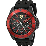Ferrari XX Kers Black Stainless Steel Mens Watch 0830310