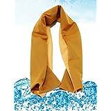 (インマン) INMAN クールタオル 速乾 軽量 超吸水 超冷感 熱中症対策 二層冷感設計 6色 30x100cm