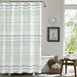 Tommy Bahama La Scala Breezer Shower Curtain, 72 x 72, Pastel Green