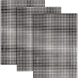Pllieay 3 Pieces Big Size Mesh Plastic Canvas Sheets for Embroidery, Acrylic Yarn Crafting, Knit and Crochet Projects, 6 Coun