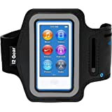 i2 Gear Running and Exercise Workout Armband Compatible with iPod Nano 8th and 7th Generation Devices with Adjustable Arm Ban