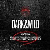 防弾少年団 BTS - DARK&WILD (Vol. 1) CD + Photobook + 2 Photocards K-POP [KPOP MARKET特典 ボーナスギフトフォトカードセット] [韓国盤]