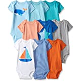 Carter's Baby Boys' 9-Pack Grow with Me Bodysuit Set
