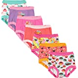 Sesame Street Girls' Toddler Friends 7-Pack Training Pants 2T, 3T,