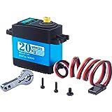 Smraza 20kg高トルク サーボモーター デジタル メタルギア (270°制御角度) デジタルステアリング 防水サーボモータ RC/ラジコンロボットカー用