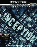インセプション <4K ULTRA HD&ブルーレイセット>(3枚組) [Blu-ray]