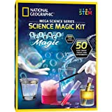 NATIONAL GEOGRAPHIC Science Magic Kit - Perform 20 Unique Science Experiments as Magic Tricks, Includes Magic Wand and Over 5