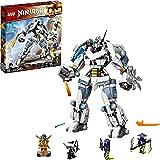 LEGO 71738 NINJAGO Legacy Zane's Titan Mech Battle Ninja Building Set with Jay Golden Figure and 2 Ghost Warriors