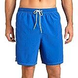 Nautica Men's Quick Dry Solid Swim Trunk