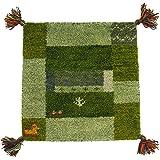 萩原 チェアマット グリーン サイズ:約40×40