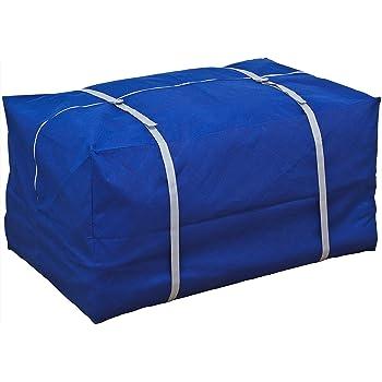アストロ 布団保管ケース 引っ越し 輸送用 持ち運びベルト付き 紺色 寝具一式が入ります! 192-02