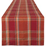 DII CAMZ10882 Cotton Table Runner, Perfect for Fall, Thanksgiving, Catering Events, Dinner Parties, Special Occasions or Seas