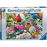 500ピース ジグソーパズル 庭の鳥 Garden Birds (49 x 36 cm)
