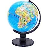 Exerz Educational World Globe (Large 25cm) Swivel Rotating Globe - Dia 25cm