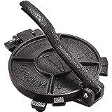 "ARC, 0027, 10 inch Cast Iron Tortilla Press, Press surface diameter, Heavy Duty, Even Pressing - Black (10.4"")"