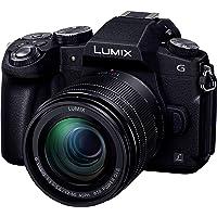 パナソニック ミラーレス一眼カメラ ルミックス G8 標準ズームレンズキット 1600万画素 ブラック DMC-G8M…