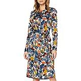 seidensticker Women's Kleid Langarm Print Dress