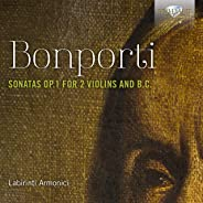 Bonporti: Sonatas, Op. 1 for 2 Violins and B.C.