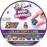 5 SURPRISE-MINI BRANDS-SERIES 3 Collectors Case(4pcs Mini Product) by ZURU