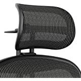 Atlas Activated Suspension Headrest For Herman Miller Classic Aeron Chair - Ergonomically Optimized Accessory For Improved Po