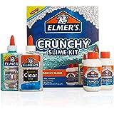Elmer's Crunchy Slime Kit | Slime Supplies Include Metallic Liquid Glue, Clear Liquid Glue, Crunchy Magical Liquid Slime Acti