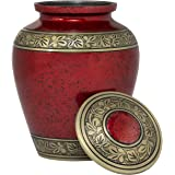 Eternal Harmony Memorial Cremation Urn Human Ashes | Carefully Handcrafted Elegant Finishes to Honor Remember Your Loved One