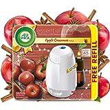 Air Wick Essential Mist, Essential Oils Diffuser, (Diffuser + 1 Refill), Apple Cinnamon, Fall scent, Fall spray, Air Freshene