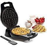 Moss & Stone Belgian Waffle Maker, Electric Waffle Machine, FlipSide & Non-Stick Grids,Temperature Control,Belgian Waffle Iro
