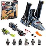 LEGO 75314 Star Wars The Bad Batch Attack Shuttle Building Toy for Kids Age 9+, Set with 5 Clones Minifigures & Gonk Droid Fi