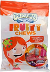 The Natural Confectionary Co. Fruity Chews, 220g