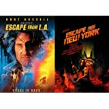 Snake Escape Double Feature John Carpenter Escape from New York + Escape from LA Kurt Russell 2 Pack