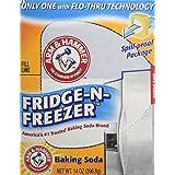 Arm & Hammer Baking Soda, Fridge-N-Freezer Pack, Odor Absorber, 14oz (Pack of 3)