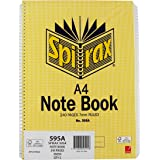 Spirax 595A Notebook Side Opening A4 240 Page