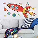 RoomMates RMK2619GM Wall Decal, Multicolor
