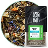 Tiesta Tea Pineapple Blues, Blueberry Pineapple Green Tea, 200 Servings, 1 Lb Bag, Medium Caffeine, Loose Leaf Green Tea Slen