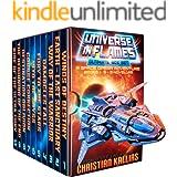 Universe in Flames – Ultimate 10 Book (5 novels + 5 novellas) Box Set: An Epic Space Opera Adventure