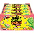 SOUR PATCH Kids Watermelon Sweet & Sour Chewy Candy - Pack of 24