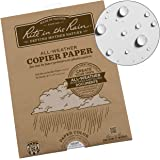 "Rite in the Rain Weatherproof Laser Printer Paper, 8.5"" x 11"", 20# Gray Colored Printer Paper, 50 Sheet Pack (No. 8511GY-50)"