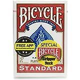 BICYCLE(バイスクル)トランプ ストリッパーデック 赤 [並行輸入品][E305]