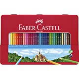 Faber-Castell PL115846 36-Pieces Classic Colour Pencil in Metal Tin