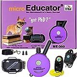 E-Collar - ME-300 - Waterproof Remote Trainer Micro Educator 1/3 Mile Range - Designed for Smaller Dogs - Static, Vibration a