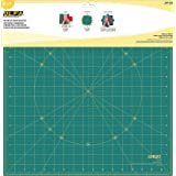 Oolfa Rotating Imperial Mat, 17 inch x 17 inch Size, Green