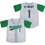 Kooy G-Baby Jarius Evans #1 Kekambas Hardball Baseball Jersey Movie Men