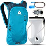 JTRYBE Hydration Pack for Running, Biking with Hydration Bladder 2L. Awesome Water Backpack for Hiking. Bonus Bite Valve and