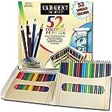Sargent Art Premium Coloring Pencils, Pack of 52 Assorted Colors and Metallics, 22-7294