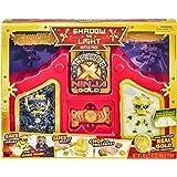 Treasure X Ninja Hunters Battle Pack. The Ultimate Ninja Dojo with Battle - Unbox & transform this playset. Experience 3 cool