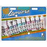 Jacquard JAC9901 Paint Pack Paint Pack, 9 Jewel Colors, Sets